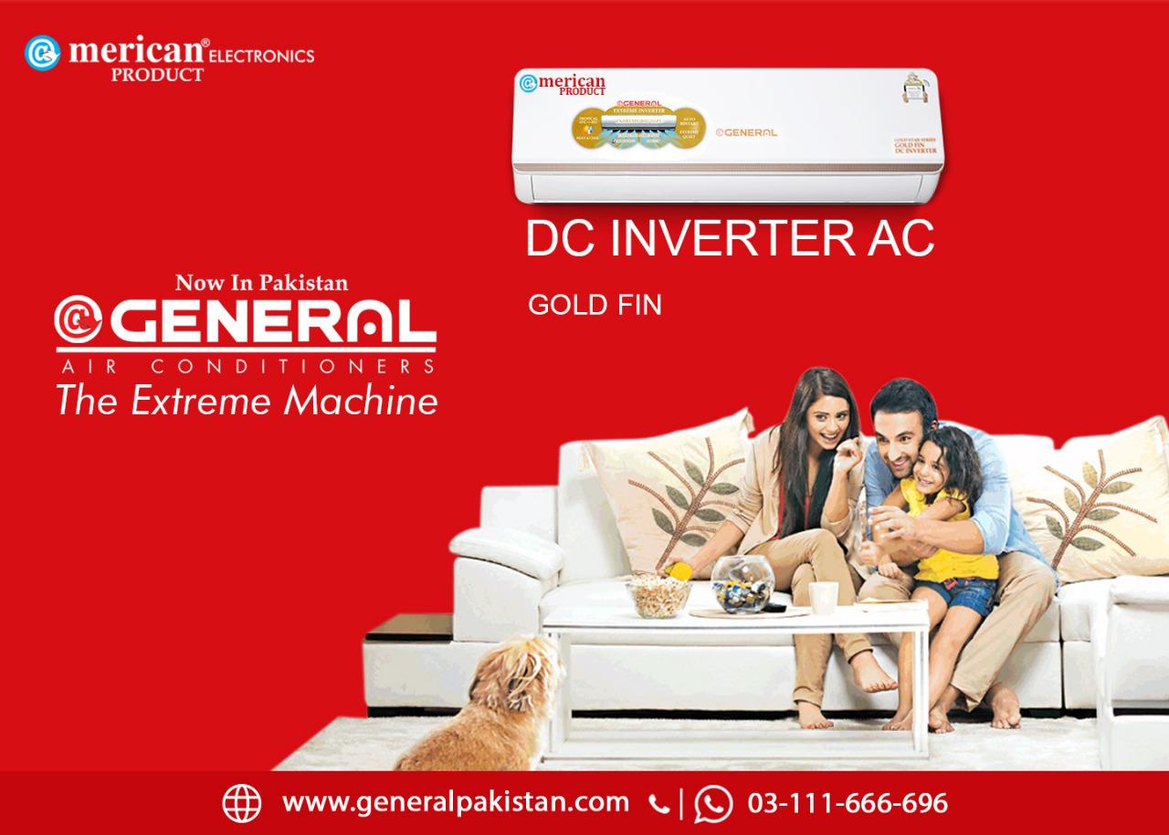 General Dc inverter AC buying guide